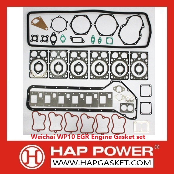 HAP-HD-012 Weichai WP10 EGR Engine Gasket set