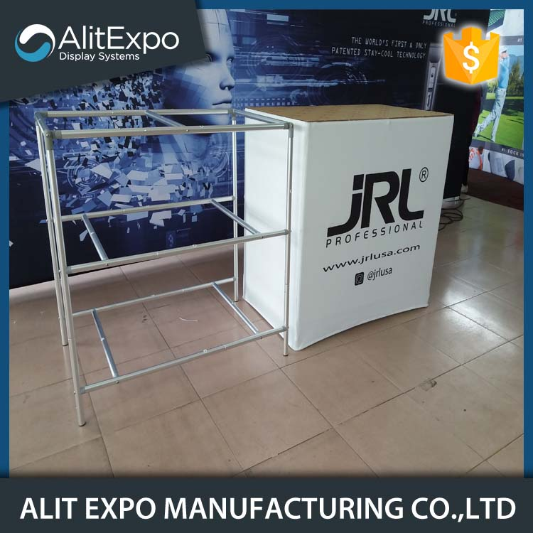 Foldable market promotion table display