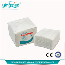 China Gold Supplier for Natural Cotton Roll,Absorbent Cotton Roll,Medical Cotton Wool,Medical Non-Woven Swab Manufacturer in China 100% Cotton Gauze Swab with or without X-ray export to Belarus Manufacturers