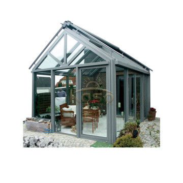 Hot sale good quality for Glass Sunroom,Glass House,Glass Room Manufacturer in China Sliding Winter Garden Sunroom Sun House Design export to Romania Manufacturers
