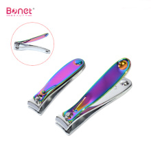 Carbon Steel Nail Clipper with Titanium Coating Color