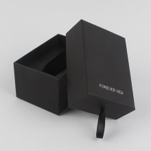Custom Black Cardboard Paper Watch Boxes