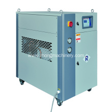 Industrial water chiller plant