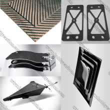 Good Quality Cnc Router price for Full Carbon Fiber Board 3K Woven Pure Carbon Fiber Sheet for Multi-rotors supply to Italy Factory
