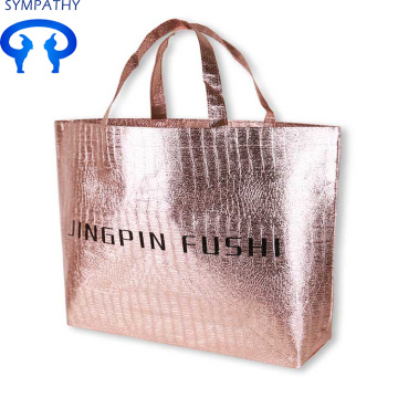 Customized garment bag shopping bag make the logo