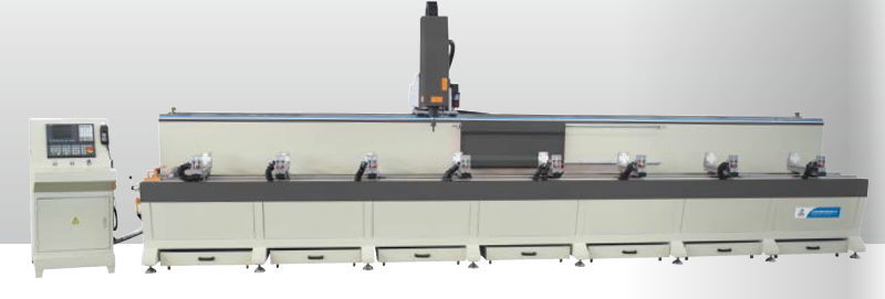 aluminum profiles machining center