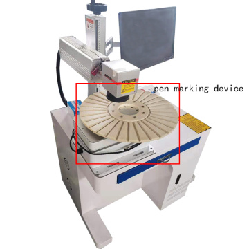 High Efficiency desktop laser Metal Date Code Engraving Machine