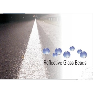 Glass Beads are Night-visible.