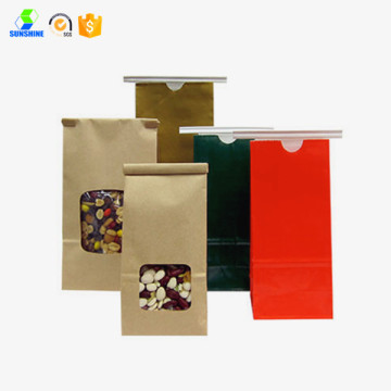 Disposable kraft food bag