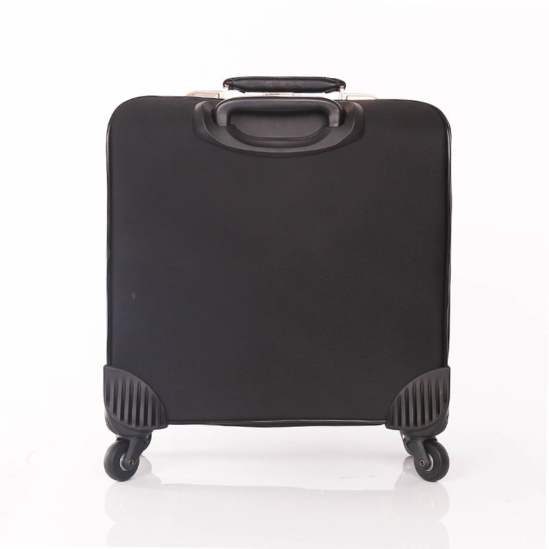 scratch PU leather luggage bags