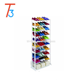 30 pairs stainless steel display shoe rack