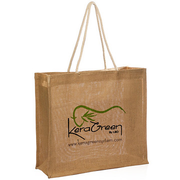 Eco Bag - mode Eco tas met handvat van touw