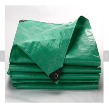 Green color PE tarpaulin