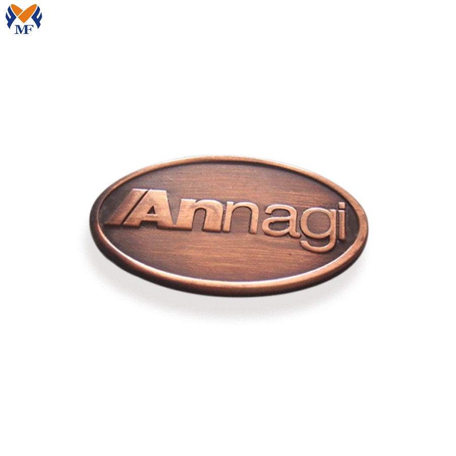 Metal Logo Plates For Handbag