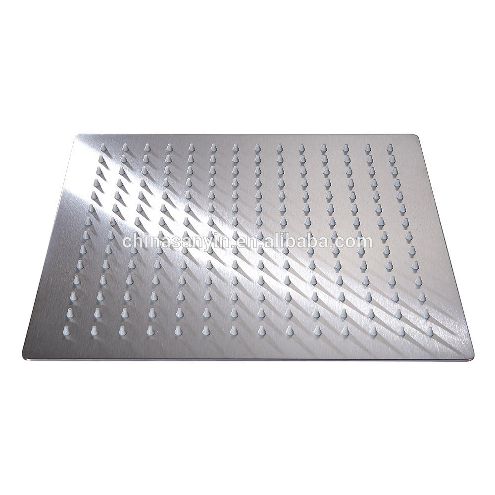 10 Inch Ultra Thin Solid Square Stainless Steel