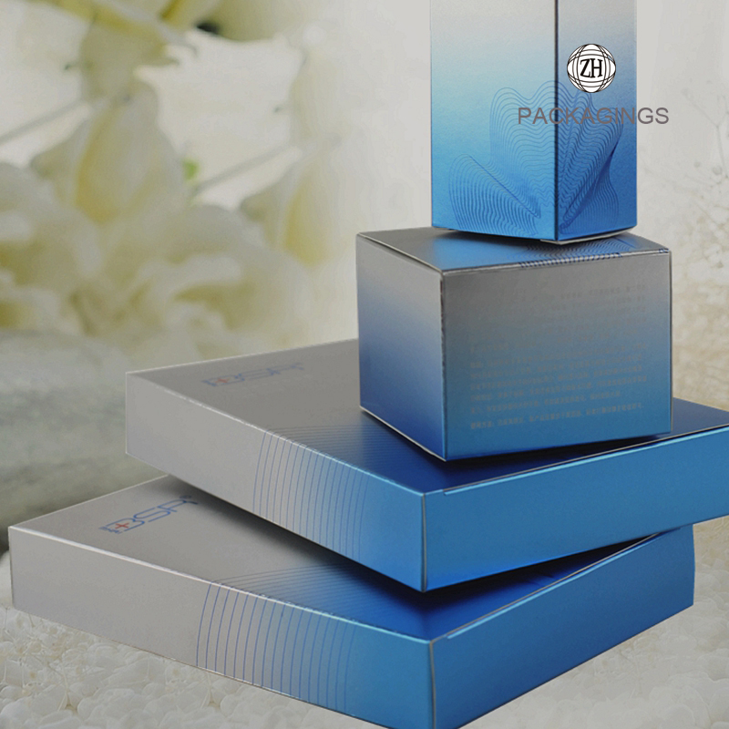 Custom made luxury perfume box packaging