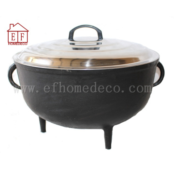 Cast Iron Jambalaya Pot 8 Gallon