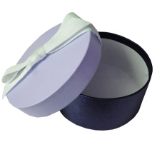 Round Gift Paper Box with Shinny Paper
