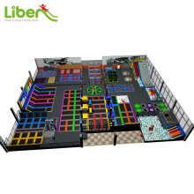 Large kids indoor trampoline park for amusement park