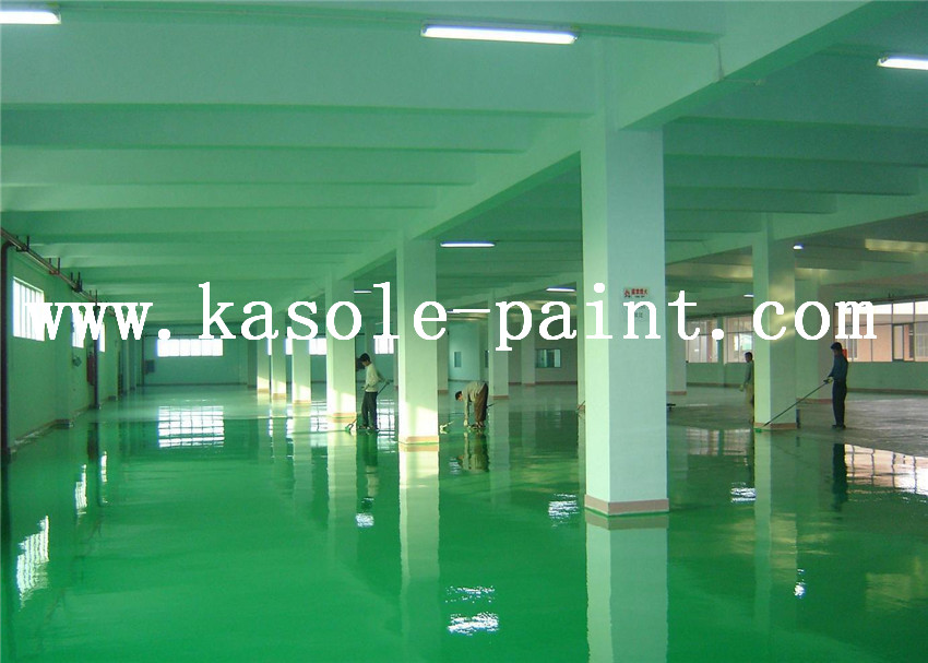 epoxy paint on floor
