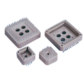 Excellent quality price for Plcc Socket Connector PLCC DIP TYPE Connector export to Portugal Exporter