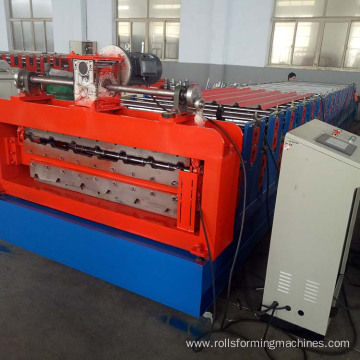 Construction material roll forming machine