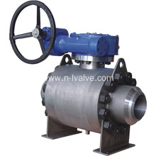 Good Quality for High Pressure Ball Valve Metal Seal Trunnion Ball Valve export to Mongolia Suppliers
