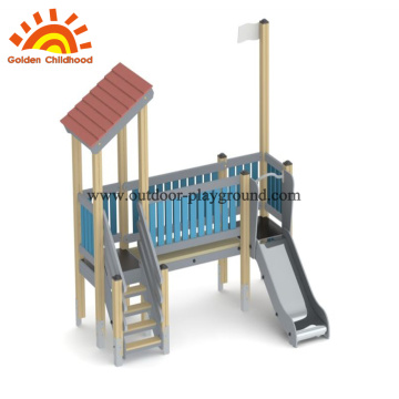 HPL wooden Multi-functional outdoor playground