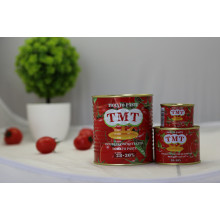 Factory supplied for Tomato Puree hunting canned tomato paste 400g export to Indonesia Factories