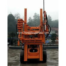 Best Quality for Pile Driver With Screw Air-Compressor High Quality Hydraulic Guardrail pile Driving Machine supply to Guinea Exporter