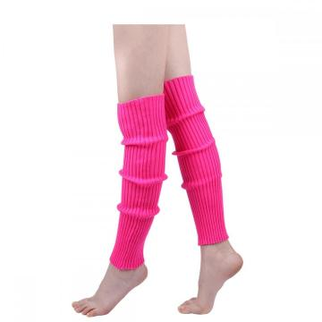 Womens 80s Ribbed Leg Warmersk Yoga Ballet Accessories