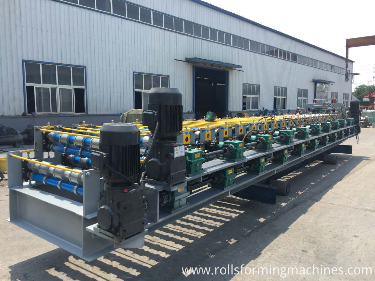 galvanized roof sheet machine