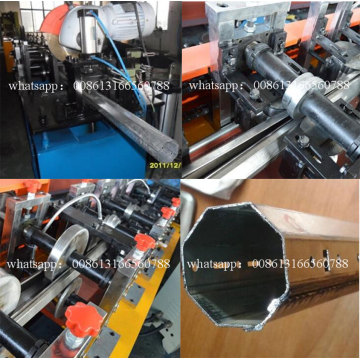 Rolling Shutter Octagonal Tube Roll Forming Machines
