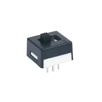 Black DPDT PC Mini Slide Switches