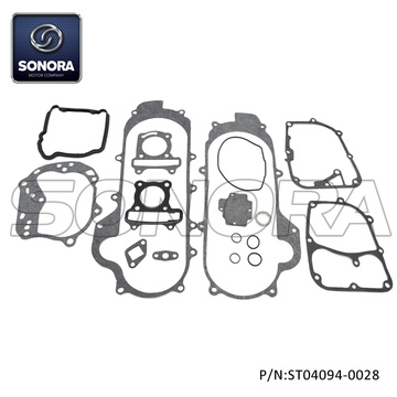 GY6-50 139QMA GASKET KIT  with rubber gasket for 39MM Engine Case (P/N:ST04094-0028) Top Quality