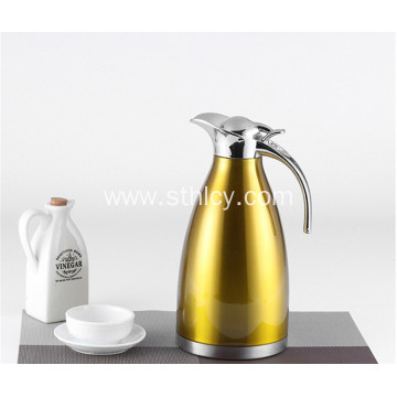 Double Walled Vacuum Sealed Stainless Steel Water Kettle