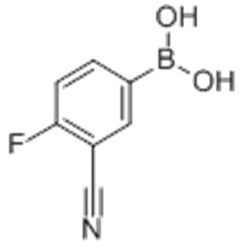 Acide boronique, B- (3-cyano-4-fluorophényl) - CAS 214210-21-6