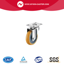 medium duty pu Stainless steel casters