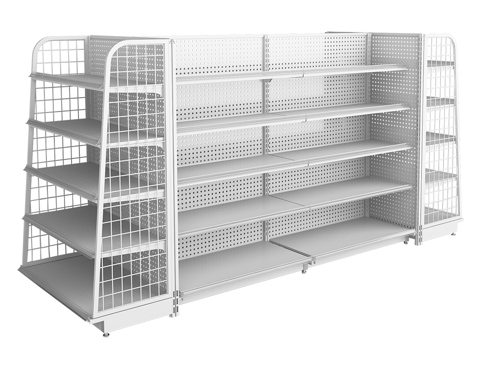 Steel Display Shelves
