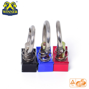 Aluminum Base Cargo Control Single Stud Fitting With O Ring