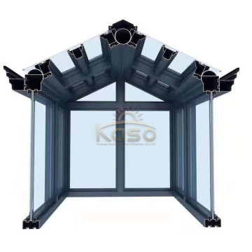 Wholesale price stable quality for Sunroom Glass House Polycarbonate Winter Garden Aluminum Profile Sun House supply to Saint Kitts and Nevis Manufacturers