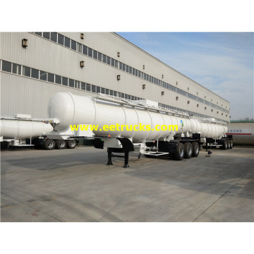 19000L 3 axles H2SO4 Delivery Tank Semi-Trailers