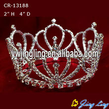 New 2014 Rhinestone Round Boy Crowns Pageant Tiaras