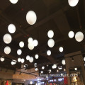 Shopping Mall Artistic LED Lighting Hanging Ball 40CM