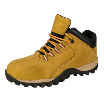 Nubuck Leather MD sole stylish Safety Shoes