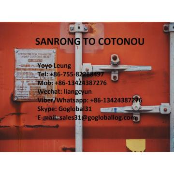 Cheapest Factory for Africa Shipping Line Zhaoqing Sanrong Sea Freight to Benin Cotonou export to Japan Supplier