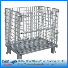 Warehouse Metal Storage Cages with 4 Wheels