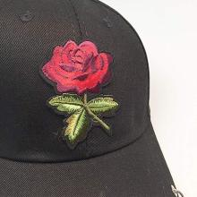 Rose Baseball Cap Unisex Hip Hop Snapback  Hats