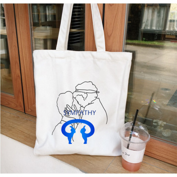 Custom  shopping bag single shoulder canvas bag