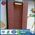 Red brick textured acrylic masonry paint